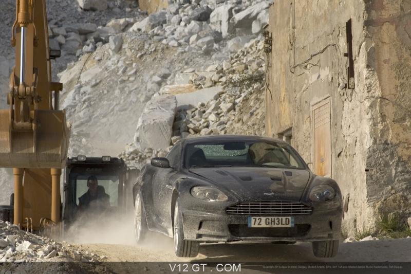 Aston Martin Dbs Quantum Of Solace James Bond Zoom