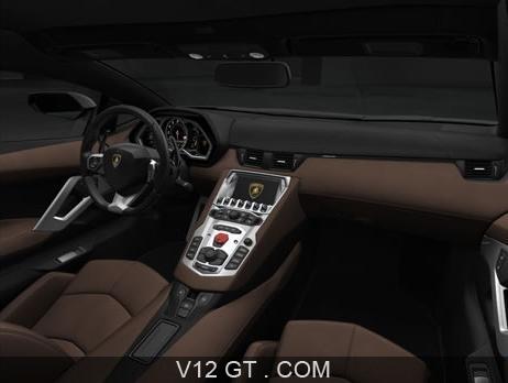 Lamborghini Aventador Lp700 4 Marron Mate Int Rieur