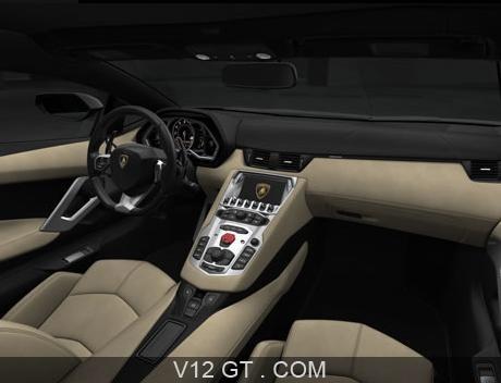 Lamborghini aventador lp700 4 noir int rieur lamborghini for Interieur lamborghini