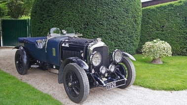 Bentley Le Mans bleu 3/4 avant droit
