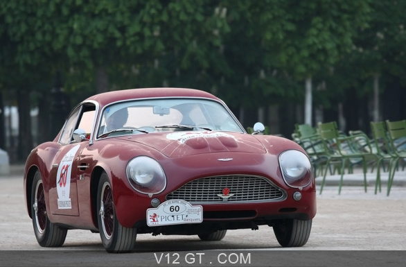 aston martin db4 gt zagato bordeaux tour auto 2009 3 4 avant droit aston martin photos. Black Bedroom Furniture Sets. Home Design Ideas