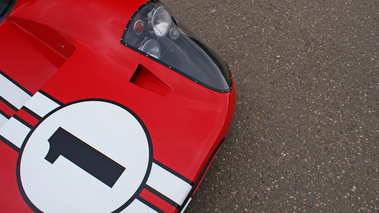 Ford GT40 MkIV rouge n° capot 2