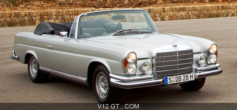 essai d 39 une automobile classic la mercedes 280 se 3 5 v8 cabriolet. Black Bedroom Furniture Sets. Home Design Ideas