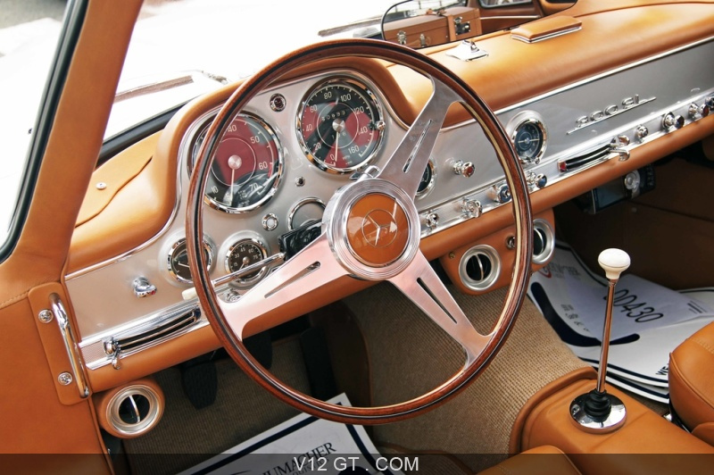 mercedes 300 sl gris tableau de bord mercedes benz photos classic les plus belles photos. Black Bedroom Furniture Sets. Home Design Ideas