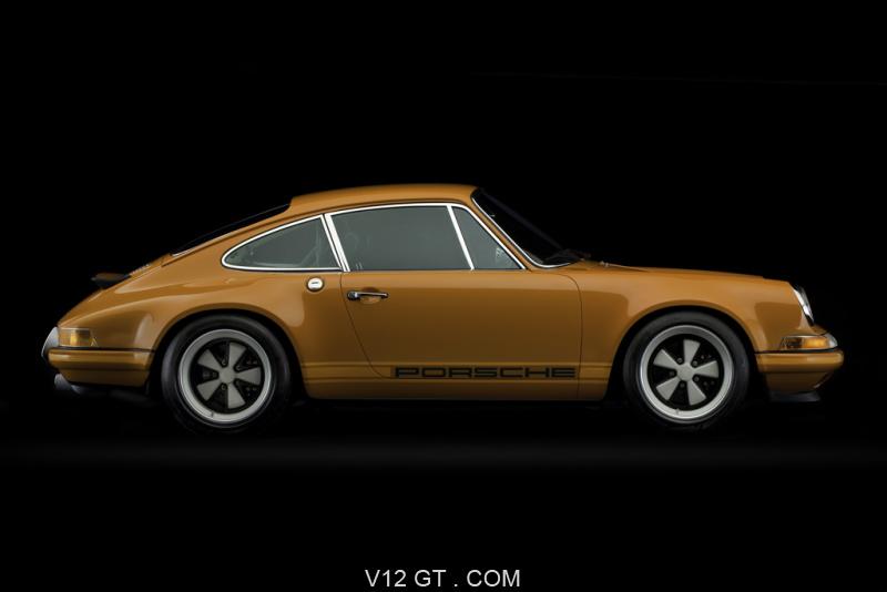 porsche 911 singer orange profil porsche photos classic les plus belles. Black Bedroom Furniture Sets. Home Design Ideas
