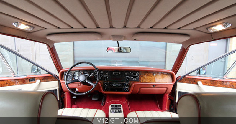 Rolls royce camargue rouge int rieur rolls royce for Interieur rolls royce