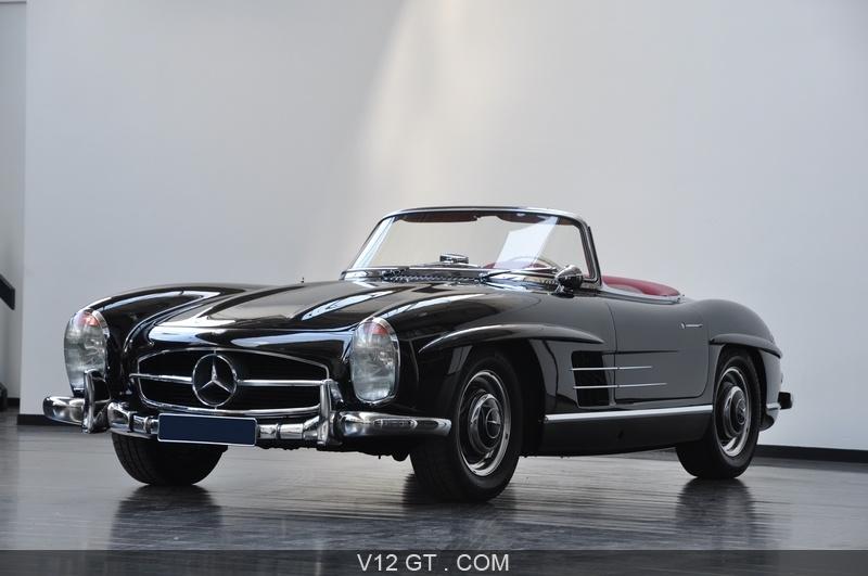 mercedes benz 300 sl noir 3 4 avg automobiles sur les champs 2 classic driver les plus. Black Bedroom Furniture Sets. Home Design Ideas