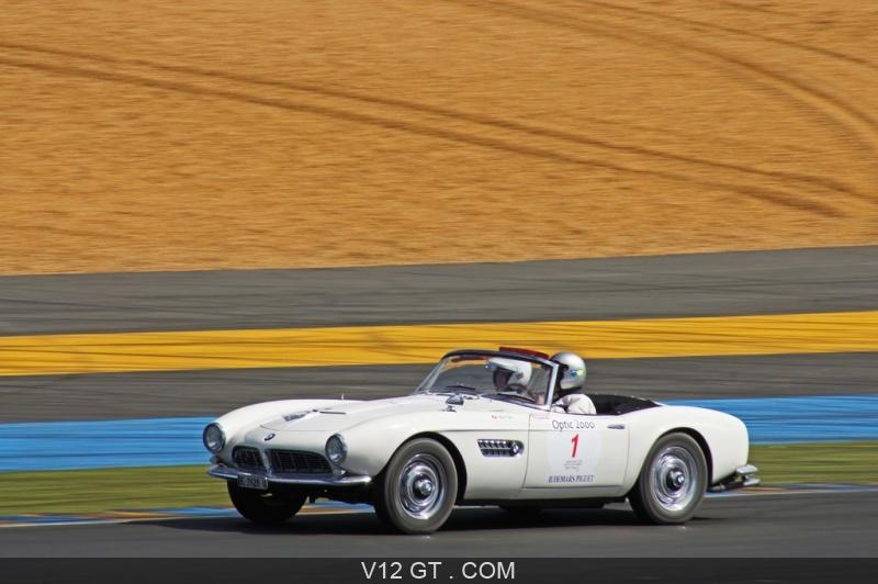 Bmw 507 Roadster. BMW-507-Roadster-blanc-3-4-