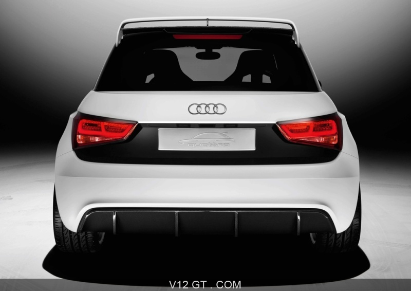 audi a1 clubsport quattro concept blanc face arri re audi photos gt les plus belles photos. Black Bedroom Furniture Sets. Home Design Ideas
