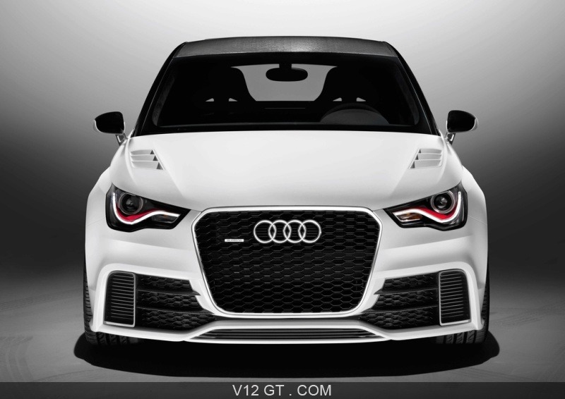 audi a1 clubsport quattro concept blanc face avant audi. Black Bedroom Furniture Sets. Home Design Ideas