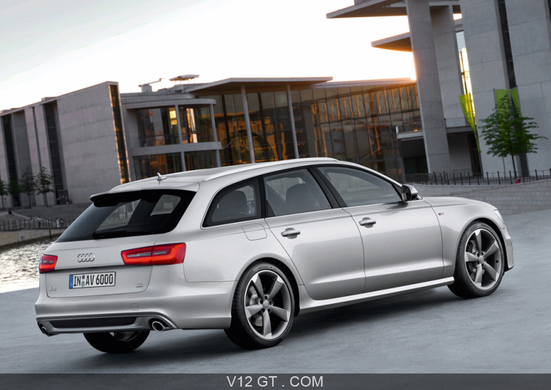 audi a6 avant gt infos gt news v12 gt l 39 motion automobile. Black Bedroom Furniture Sets. Home Design Ideas