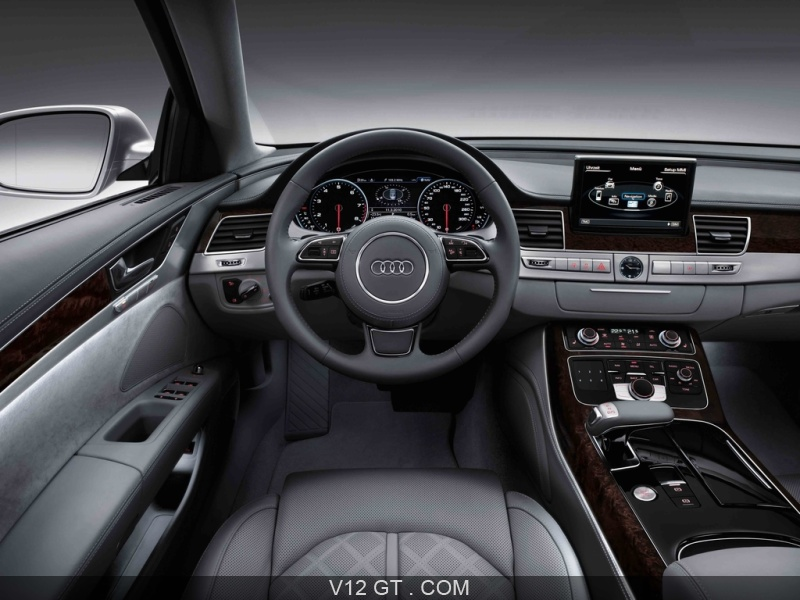 audi a8 l gris tableau de bord audi photos gt les plus belles photos de gt et de classic. Black Bedroom Furniture Sets. Home Design Ideas