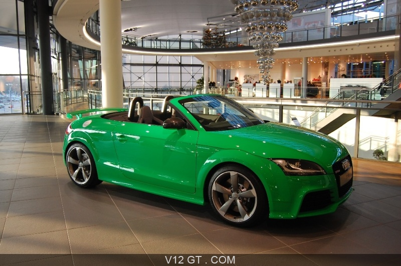 Audi Exclusive Audi Tt Rs Vert Pomme Audi Photos Gt
