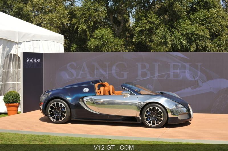 Bugatti veyron grand sport sang bleu pebble beach profil 2