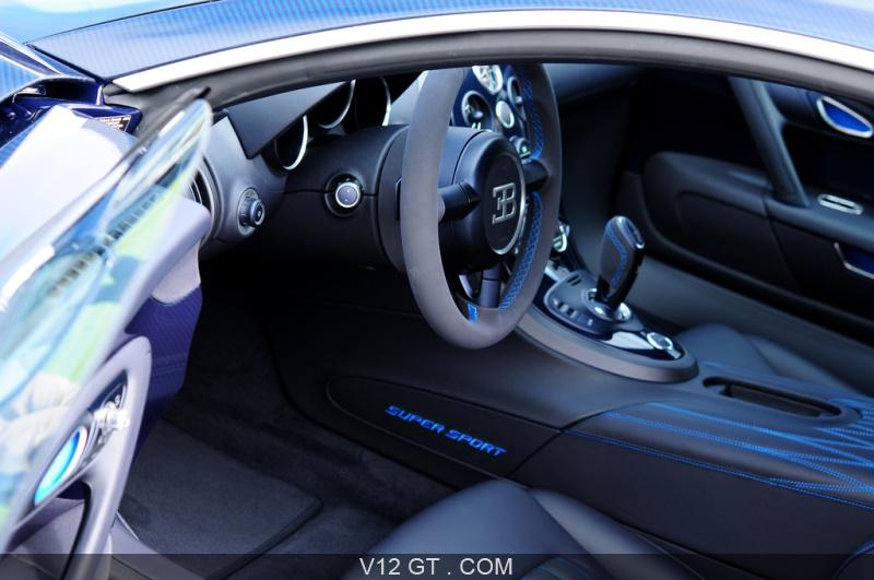 bugatti veyron super sport carbone bleu the quail int rieur bugatti photos gt les plus. Black Bedroom Furniture Sets. Home Design Ideas