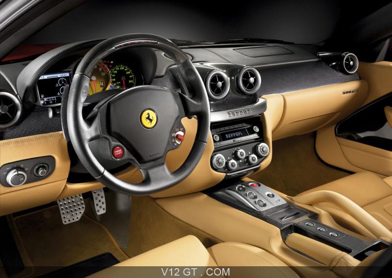 Ferrari 599 gtb fiorano rouge int rieur ferrari photos for Interieur ferrari