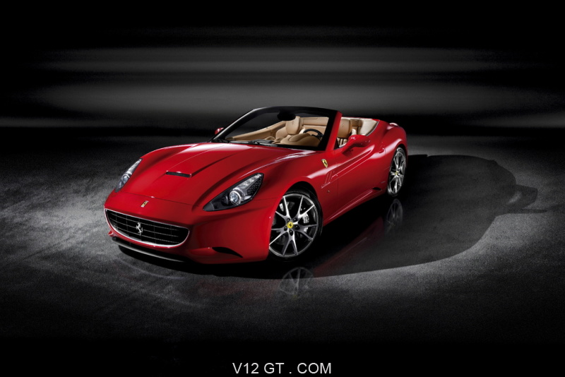 Ferrari California rouge 3/4 avant gauche 2 / Ferrari ...