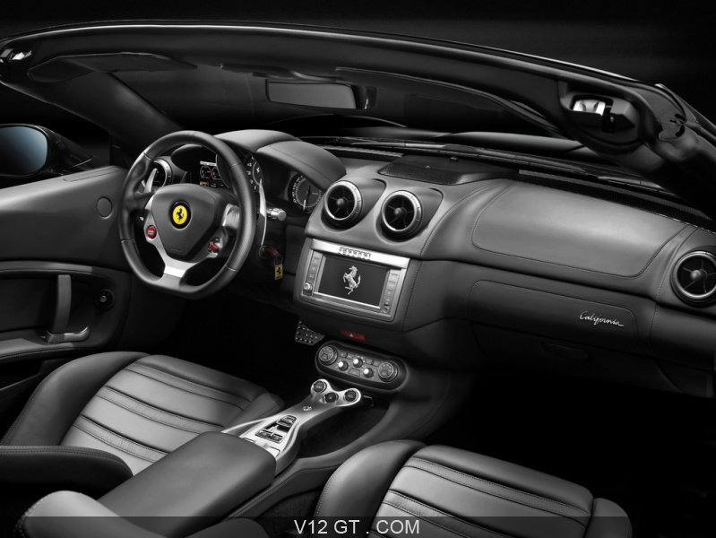 Ferrari california rouge int rieur 2 ferrari photos gt for Interieur ferrari