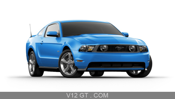ford mustang gt bleu 3 4 avant droit ford photos gt les plus belles photos de gt et de. Black Bedroom Furniture Sets. Home Design Ideas