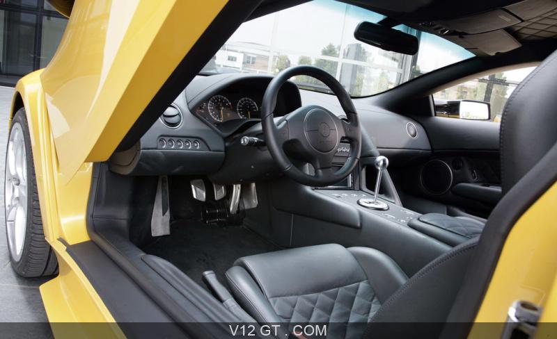 Lamborghini Murcielago Lp640 Jaune Int Rieur Lamborghini