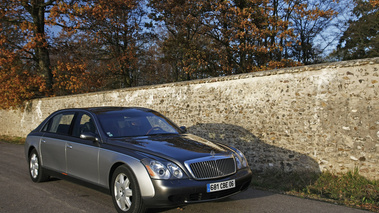 Maybach 62 grise/anthracite 3/4 avant droit 2