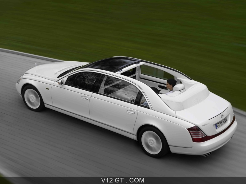 62s landaulet / maybach - v12 gt - l'émotion automobile