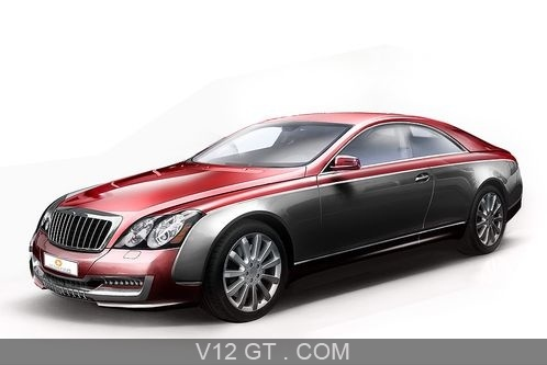 Rover Vitesse Sketches on Sketch Maybach 57s Coup     3 4 Avant Gauche   Maybach   Photos Gt