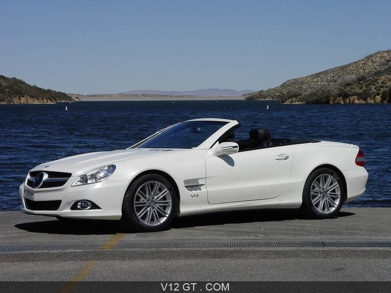 sl600 mercedes benz v12 gt l 39 motion automobile. Black Bedroom Furniture Sets. Home Design Ideas