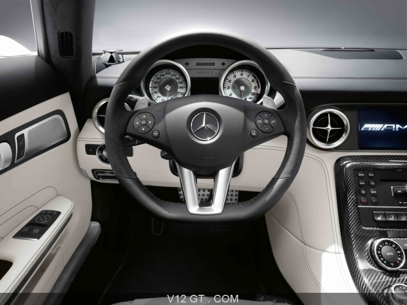 mercedes sls amg roadster blanc volant amg photos gt les plus belles photos de gt et de. Black Bedroom Furniture Sets. Home Design Ideas
