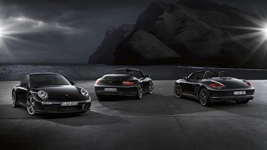 Porsche Boxster S Black Edition - avec 911 Black Edition