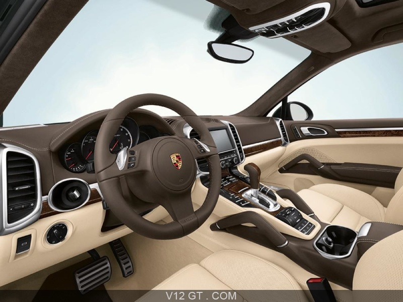 Fiche technique du porsche cayenne turbo for Interieur porsche cayenne