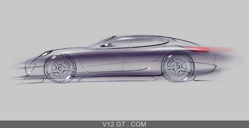 Porsche panamera turbo dessin profil porsche photos gt - Dessin de porche ...