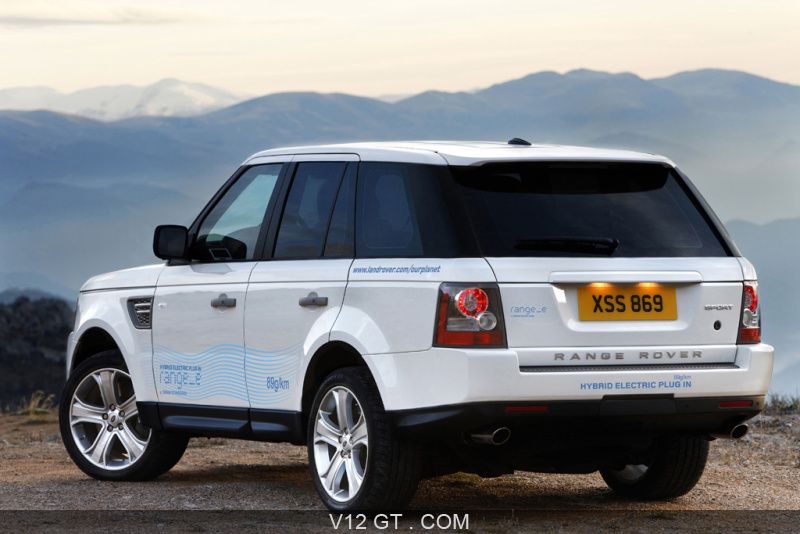 range rover sport e gt infos gt news v12 gt l 39 motion automobile. Black Bedroom Furniture Sets. Home Design Ideas