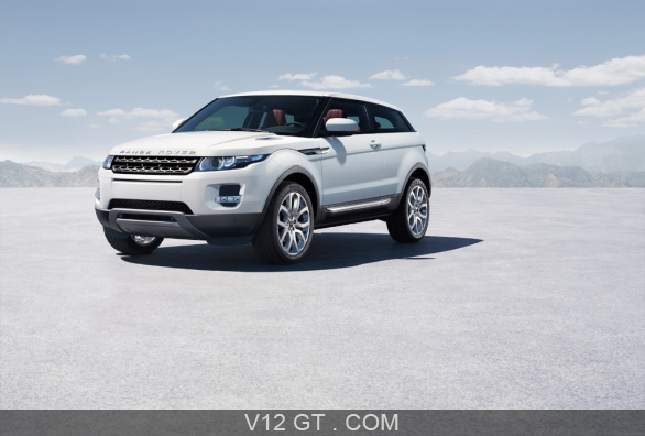 range rover evoque blanc 3 4 avant gauche range. Black Bedroom Furniture Sets. Home Design Ideas