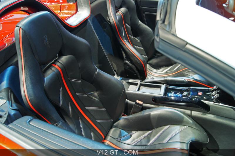 mondial de l 39 automobile paris 2010 ferrari 599 sa aperta. Black Bedroom Furniture Sets. Home Design Ideas