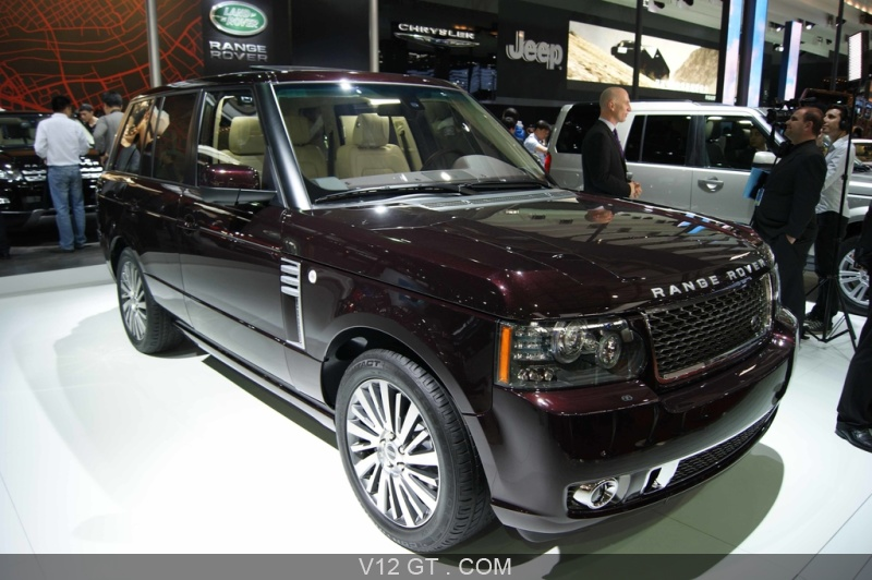 range rover autobiography ultimate edition bordeaux 3 4 avant droit salon de shangai 2011. Black Bedroom Furniture Sets. Home Design Ideas