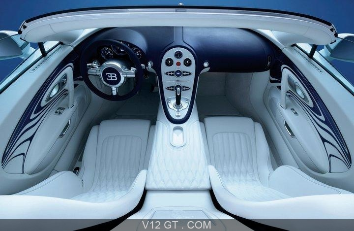 fiche technique de la bugatti veyron grand sport l 39 or blanc. Black Bedroom Furniture Sets. Home Design Ideas