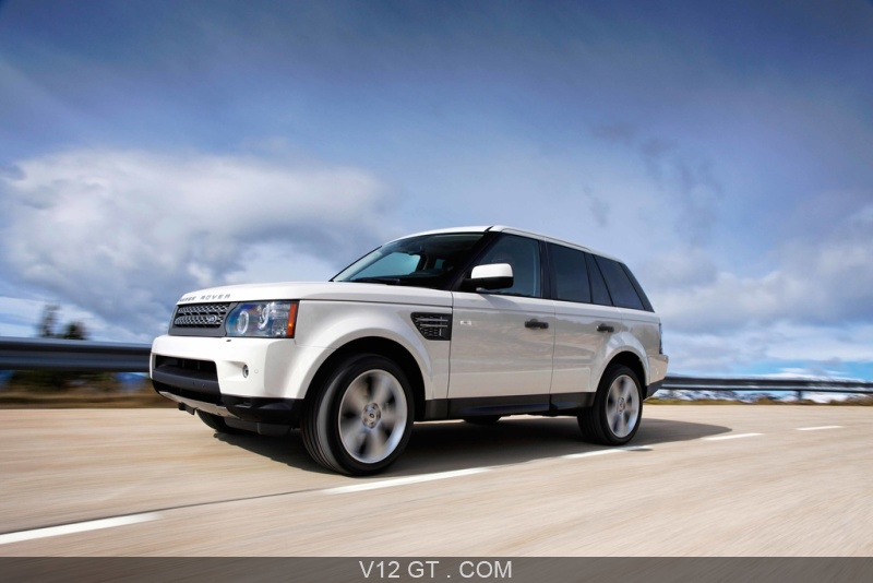 range rover sport supercharged blanc 3 4 avant gauche. Black Bedroom Furniture Sets. Home Design Ideas