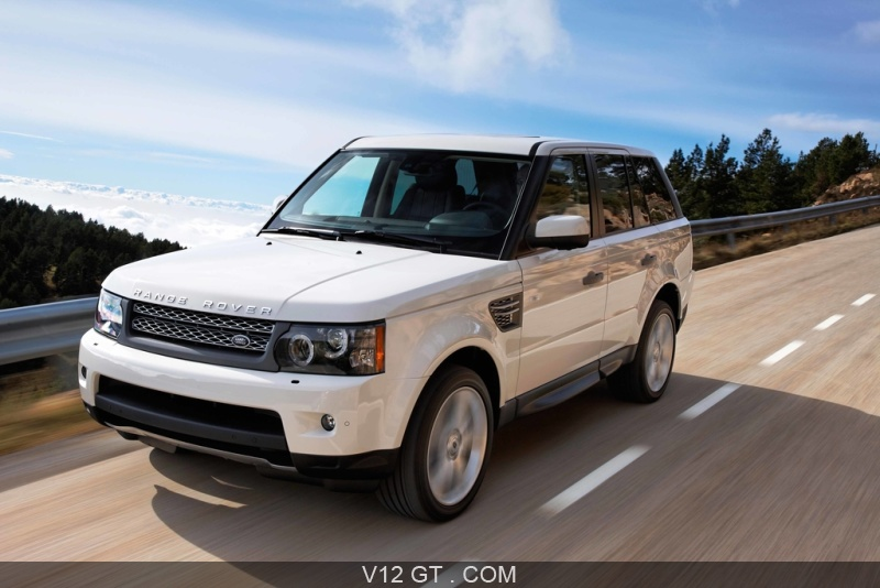 range rover sport supercharged blanc 3 4 avant gauche travelling range rover photos gt les. Black Bedroom Furniture Sets. Home Design Ideas
