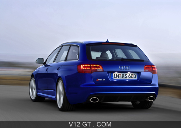 audi rs6 avant plus gt infos gt news v12 gt l 39 motion automobile. Black Bedroom Furniture Sets. Home Design Ideas