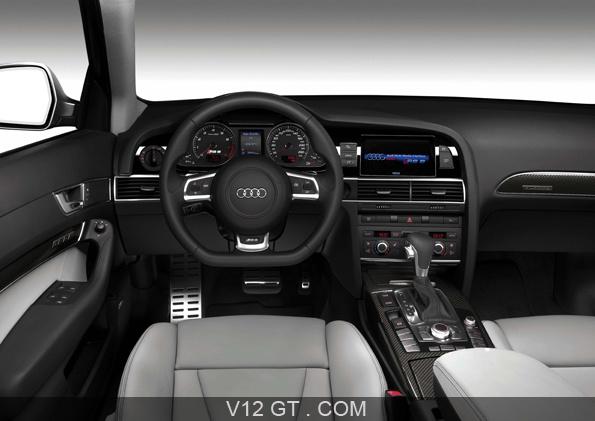 L 39 ausi rs6 avant est motoris e par un v10 gonfl e 580 for Audi a6 avant interieur
