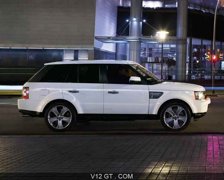 Très Range Rover Sport LR-V8 / RANGE ROVER - V12 GT - L'émotion automobile AI09