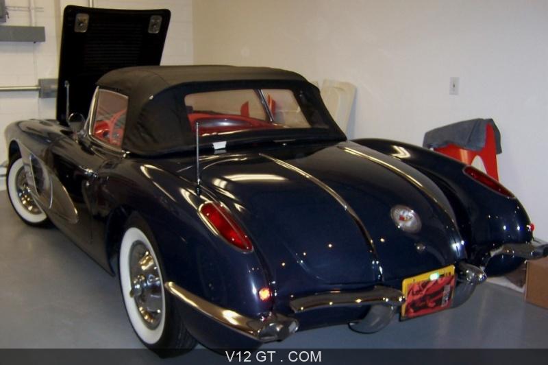 corvette c1 1958 petites annonces gratuites avec photo. Black Bedroom Furniture Sets. Home Design Ideas