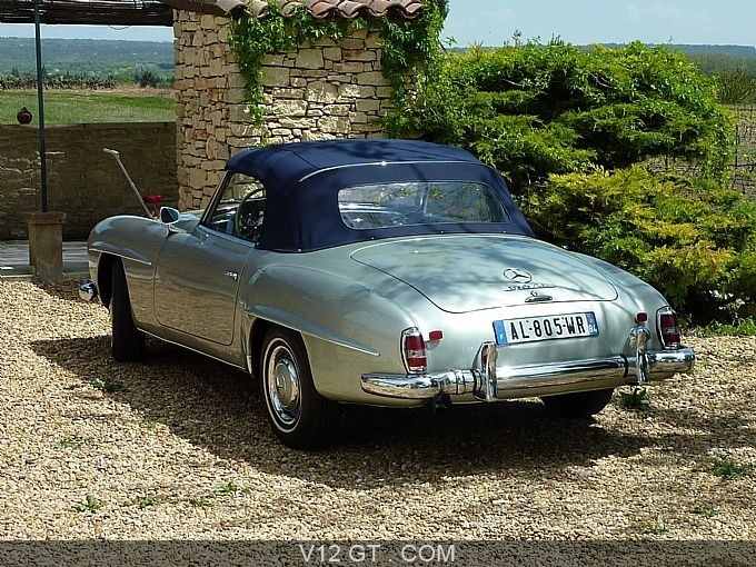 mercedes benz 190 sl roadster 1961 petites annonces. Black Bedroom Furniture Sets. Home Design Ideas