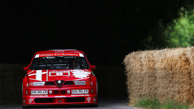 Goodwood Festival of Speed 2017 - Alfa Romeo 155 DTM rouge face avant