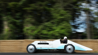 Goodwood Festival of Speed 2017 - ancienne blanc/bleu filé