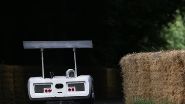 Goodwood Festival of Speed 2017 - ancienne blanc face arrière