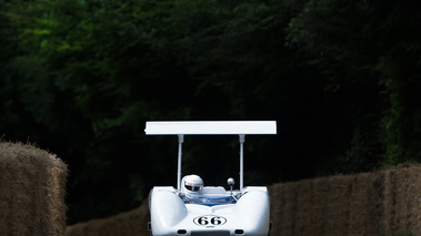 Goodwood Festival of Speed 2017 - ancienne blanc face avant 2