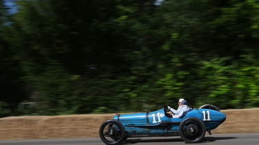 Goodwood Festival of Speed 2017 - ancienne bleu filé