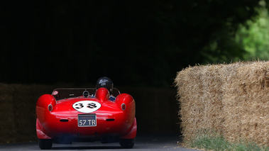 Goodwood Festival of Speed 2017 - Ferrari 250 Testa Rossa rouge face arrière